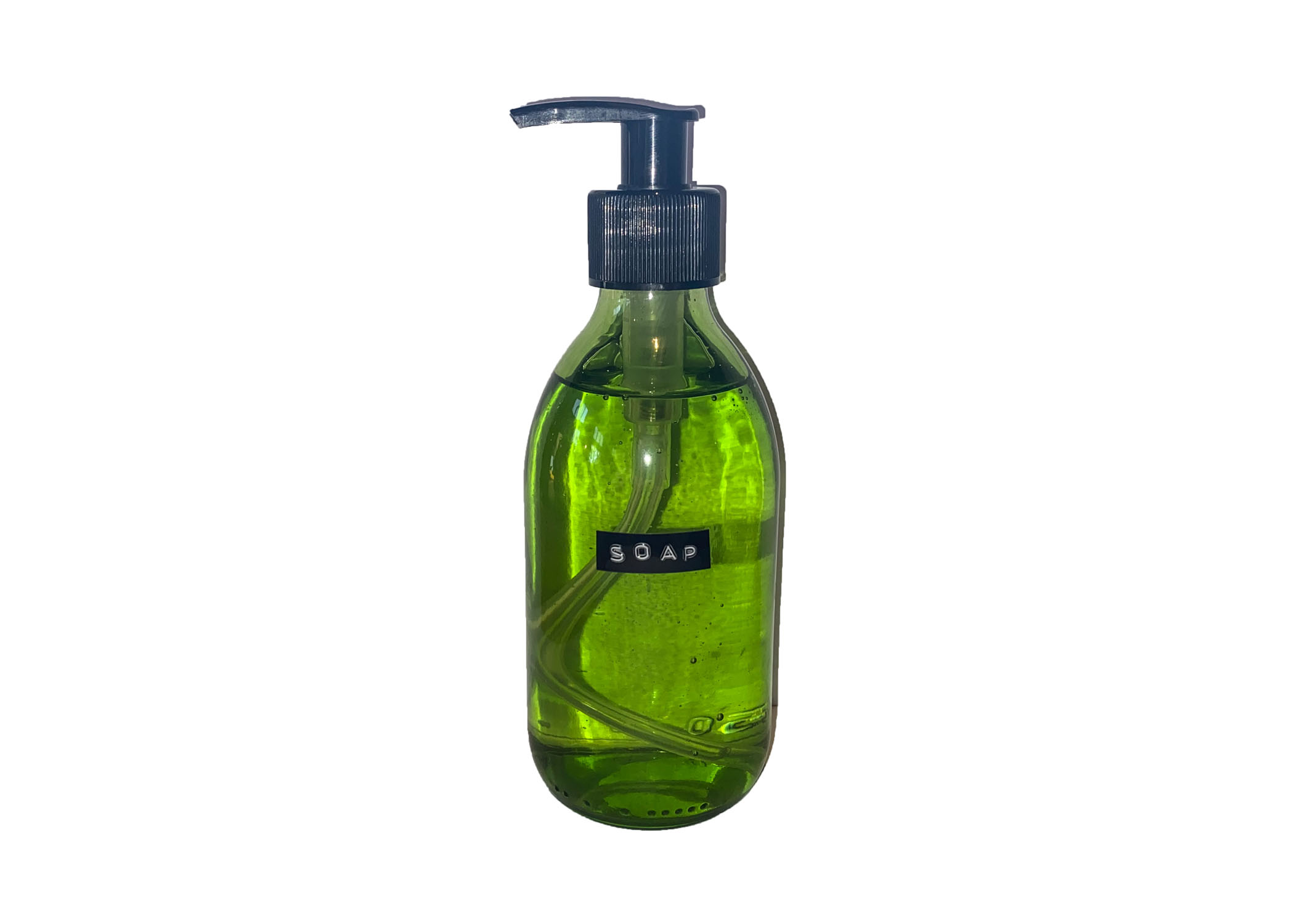 Hand Soap Green Glass 250 ml