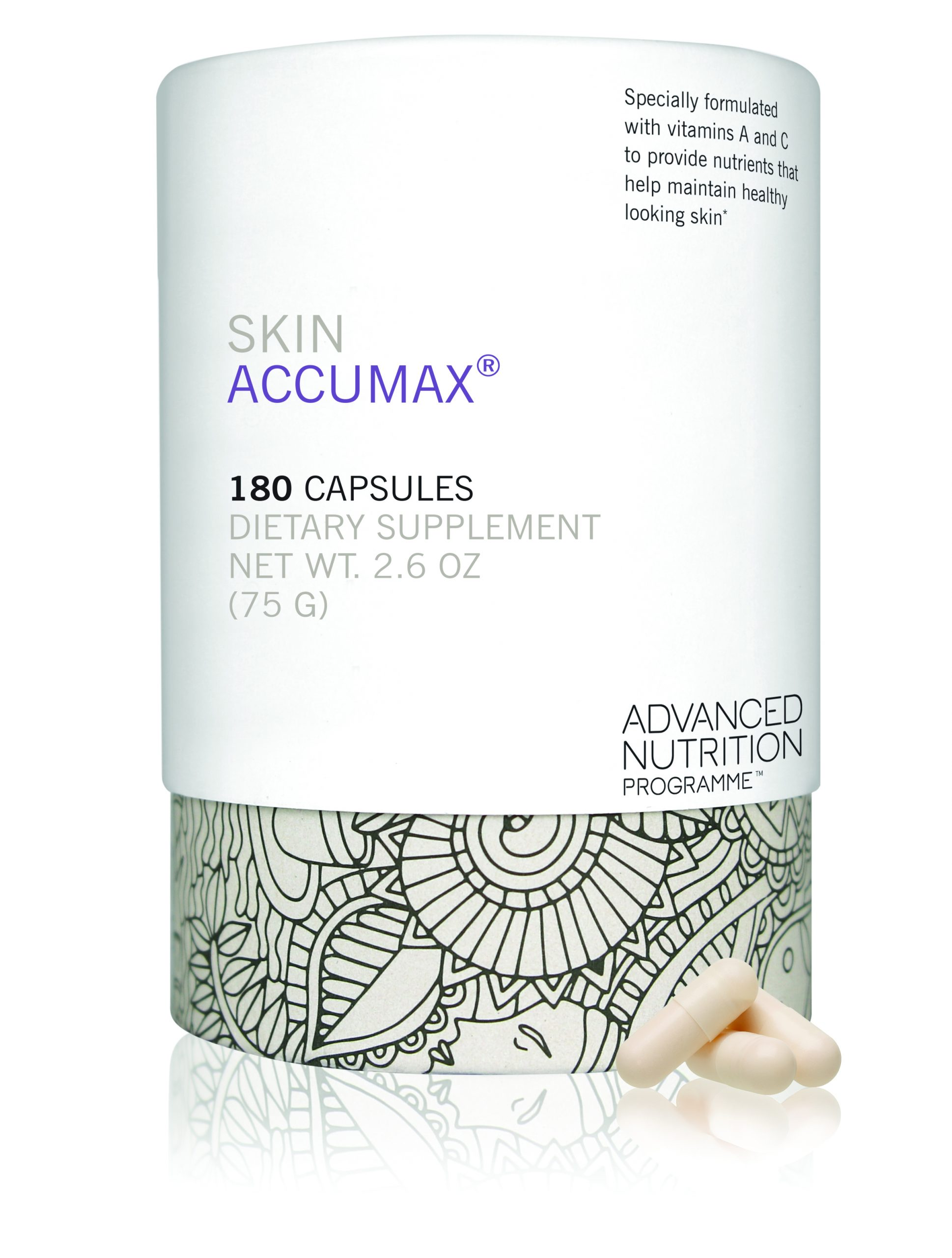 Skin Accumax Supersize (180 caps)